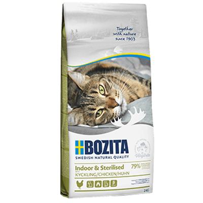 BOZITA INDOOR & STERILISED HUHN