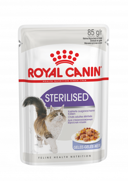 Royal Canin Sterilised (Gelee) 12 x 85 g