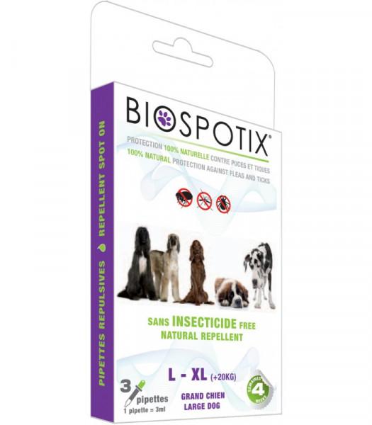 BIOSPOTIX Spot ON HUNDE 3 X 3 ML L-XL