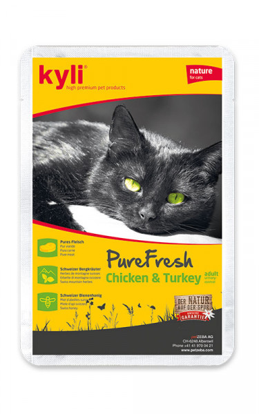Pure Fresh Chicken & Turkey adult urinary-control 12 x 85g