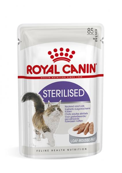 Royal Canin Sterilised (Mousse) 12 x 85 g