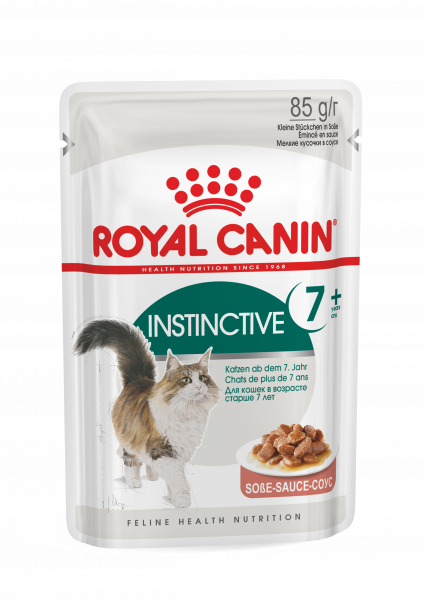 Royal Canin Instinctive 7+ (Sauce) 12 x 85 g
