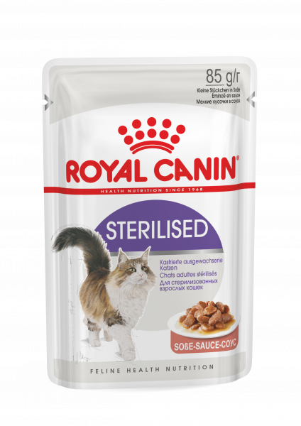 Royal Canin Sterilised (Sauce) 12 x 85g