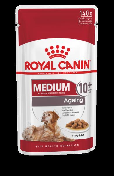 Royal Canin Medium Ageing 10+ 10 x 140g