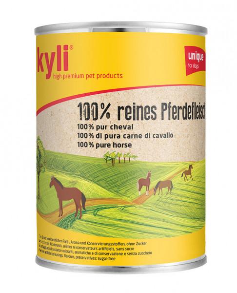 100 % reines Pferdefleisch