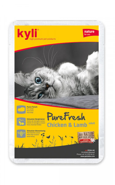 Pure Fresh Chicken & Lamb adult 12 x 85g