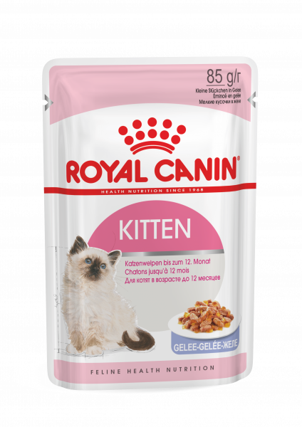 Royal Canin Kitten Instinctive (Gelee) 12 x 85g