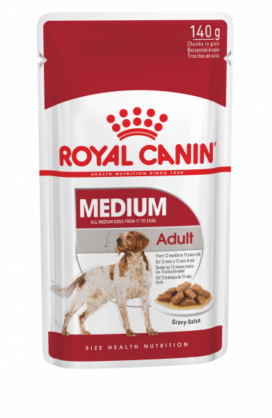 Royal Canin Medium Adult 10 x 140g